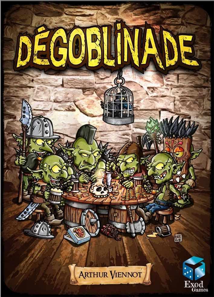 Couverture de la boîte de jeu Dégoblinade